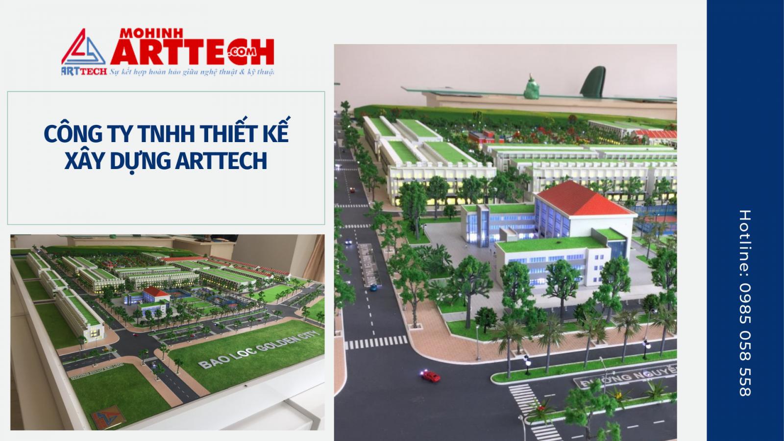 Mô hình kiến trúc Arttech